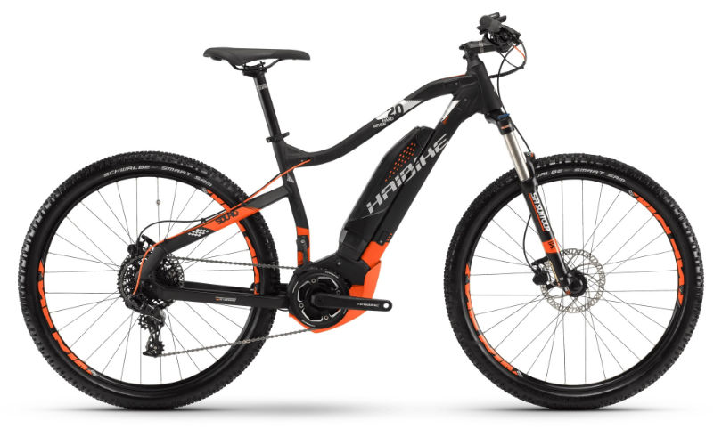 Haibike Sduro Hardseven 2.0 Electric Hire Bike
