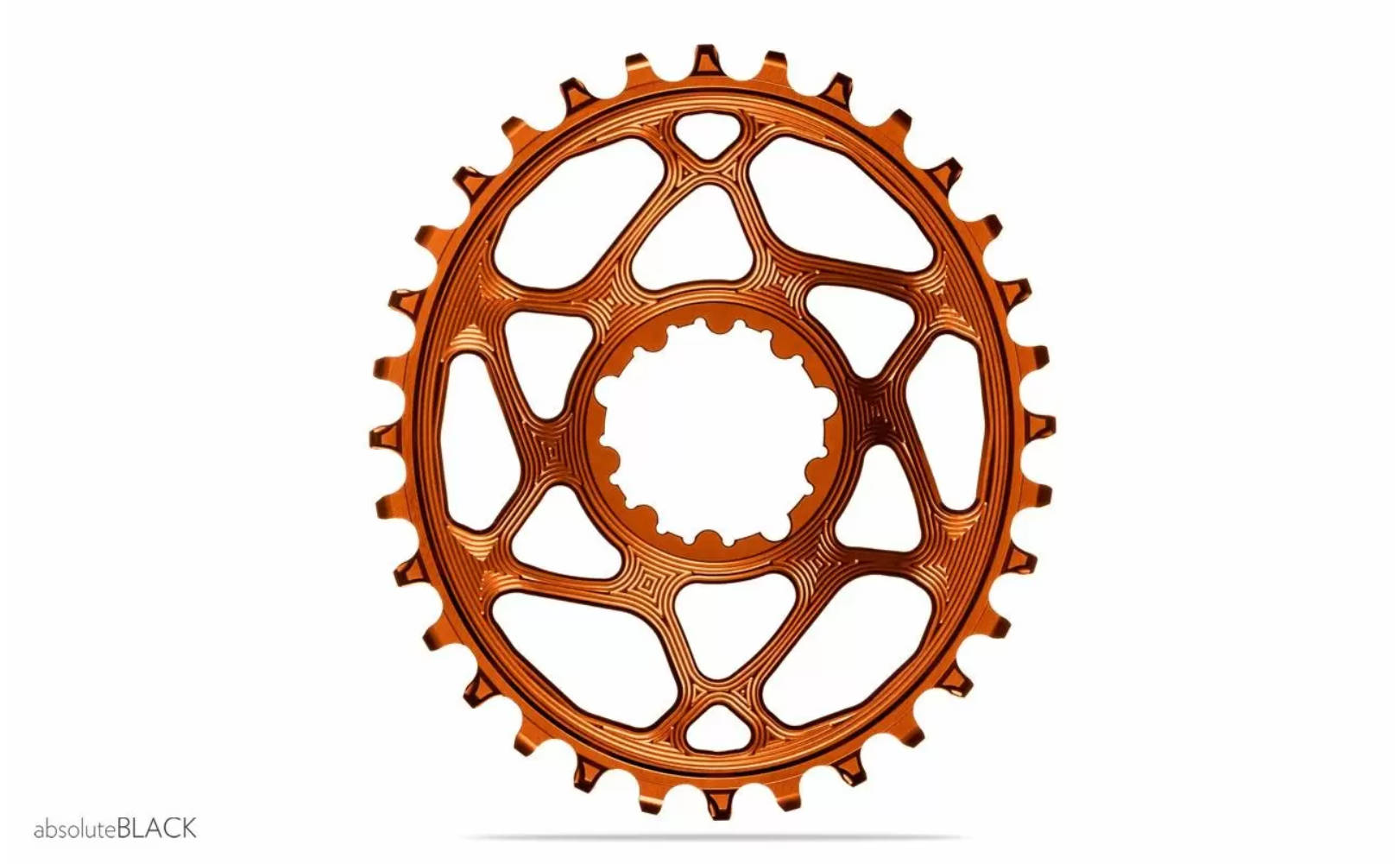 absoluteBLACK Oval Boost N/W Chainring For SRAM 3MM Offset