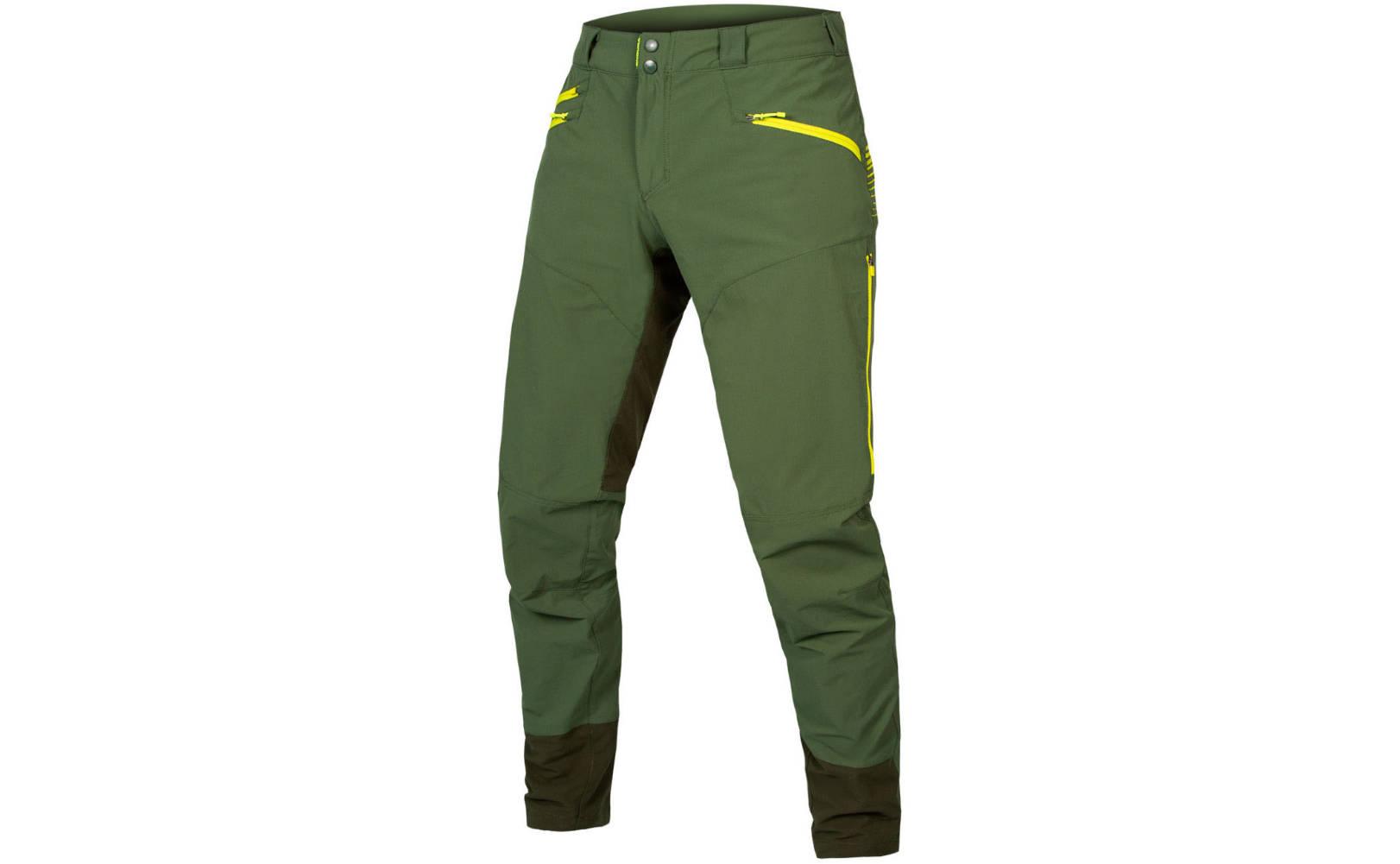 Endura SingleTrack II Trouser in Forest Green - Front