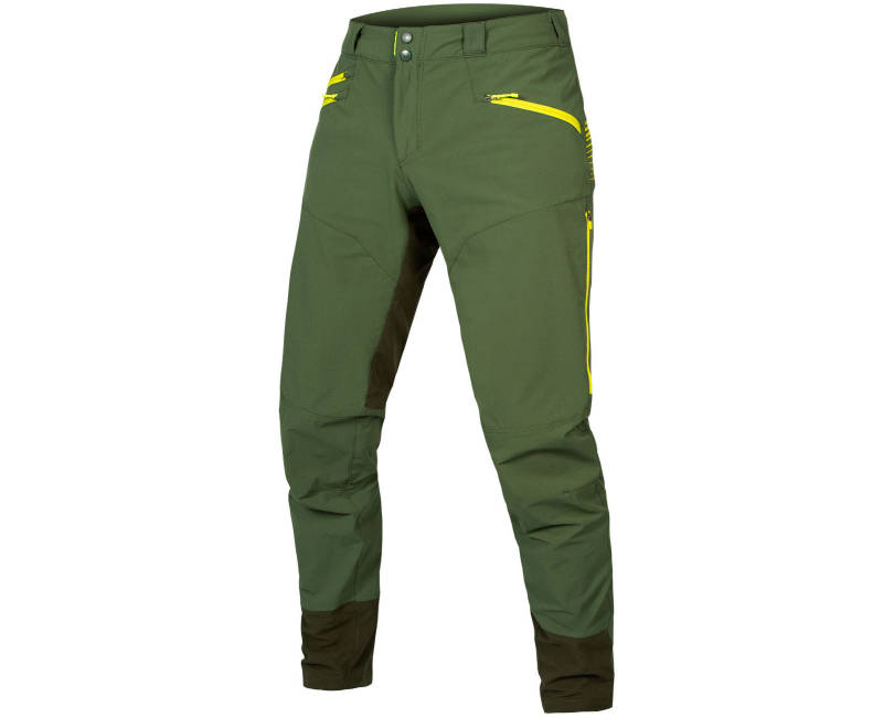 Endura SingleTrack II Trouser in Forest Green - Front
