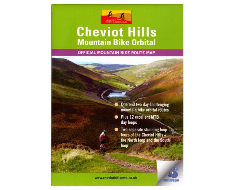 Cheviot Hills MTB Routes Map