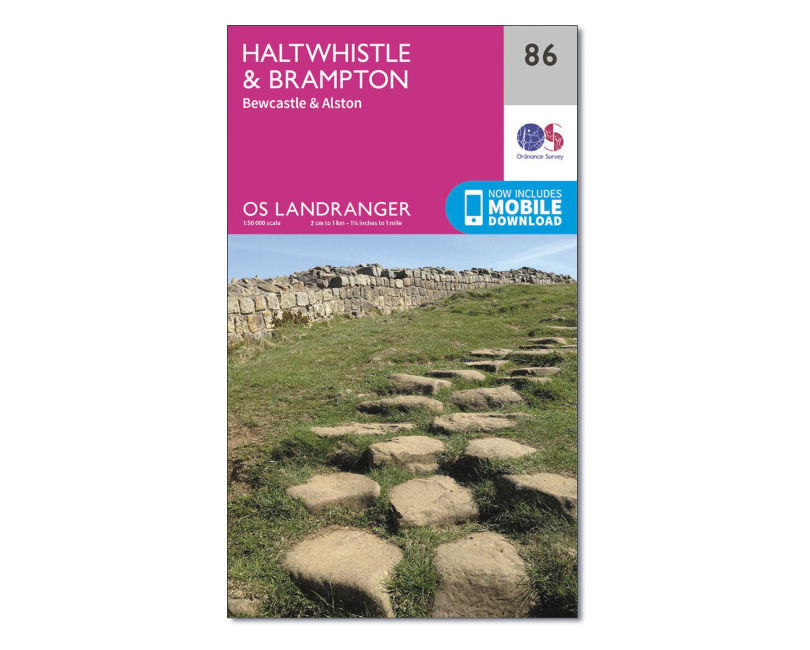OS Landranger Sheet 86 - Haltwhistle and Brampton