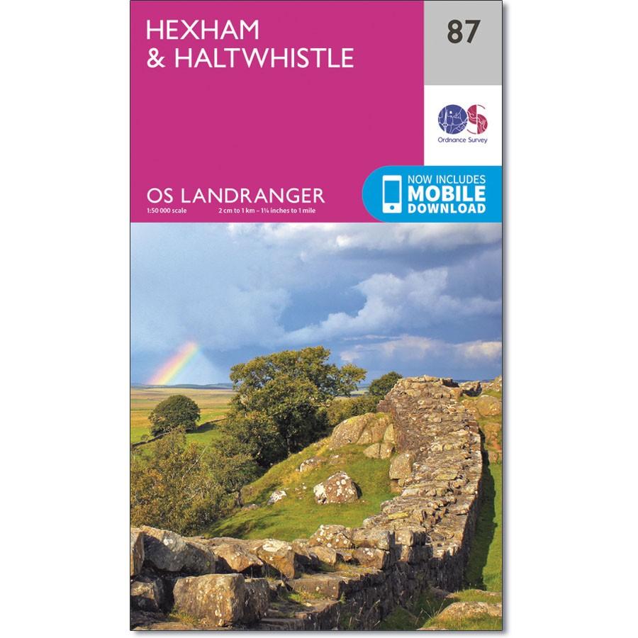OS Landranger Sheet 87 - Hexham and Haltwhistle