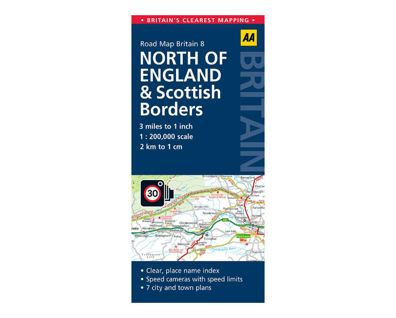 North of England Road Map